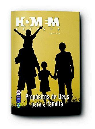 HOMEM BATISTA 4TRIM2021 CONVICÇÃO 172 PROPÓSITOS DE DEUS PARA A FAMÍLIA