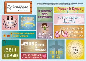 APRENDENDO SUPLEMENTO DIDÁTICO 4TRIM2021 CONVICÇÃO  ESCOLAR 1  ADORAÇÃO AO FILHO DE DEUS OS ENSINOS DE JESUS