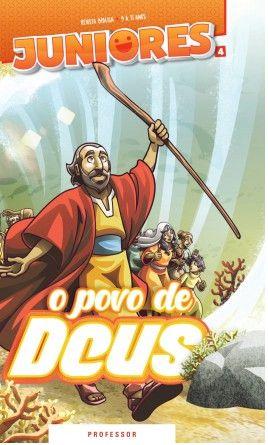 O POVO DE DEUS PROFESSOR JUNIORES VOL 4 ECE