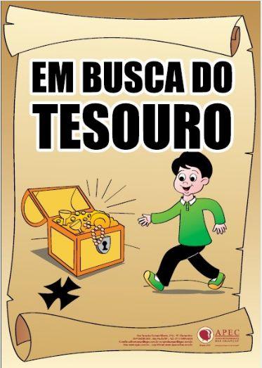 EM BUSCA DO TESOURO HISTÓRIA APEC COM LIVRINHO