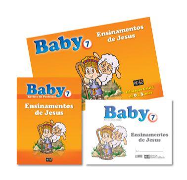 ENSINAMENTOS DE JESUS KIT BABY VOL 7 Z3
