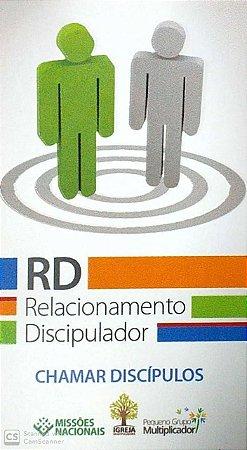 CHAMAR DISCÍPULOS RD CARTÃO RELACIONAMENTO DISCIPULADOR JMN