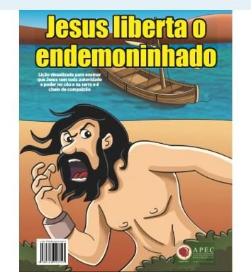 JESUS LIBERTA O ENDEMONINHADO