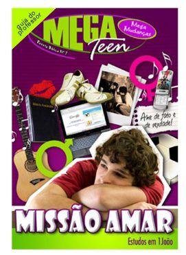 MISSÃO AMAR PROFESSOR MEGA TEEN VOL 7 ECE
