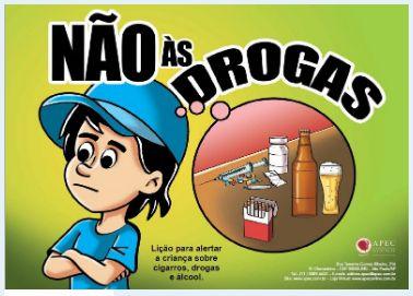 NÃO ÀS DROGAS KIT APEC