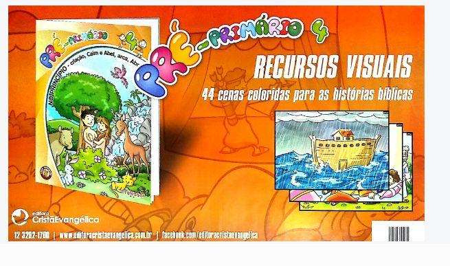 NO PRINCÍPIO PRÉ-PRIMÁRIO CARTAZ VISUAL A3 VOL 4 ECE