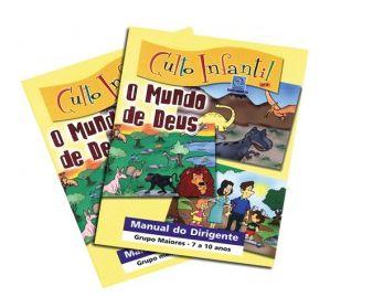 O MUNDO DE DEUS CULTO INFANTIL KIT PROFESSOR VOL 3 ECE