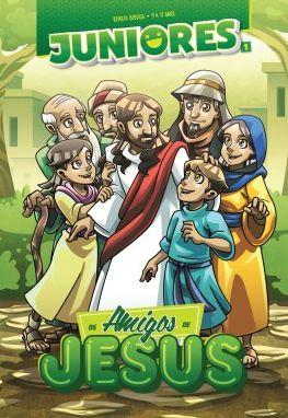 OS AMIGOS DE JESUS JUNIORES ALUNO VOL 1 ECE