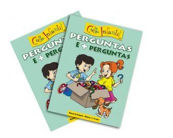PERGUNTAS E + PERGUNTAS CULTO INFANTIL KIT PROFESSOR VOL 16 ECE