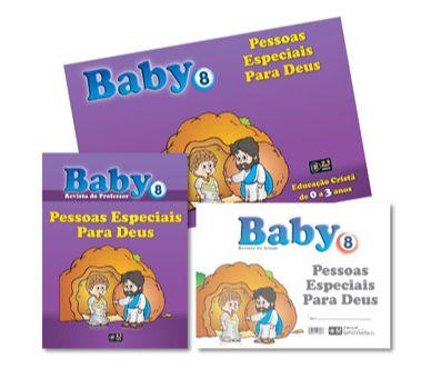 PESSOAS ESPECIAIS PARA DEUS KIT BABY VOL 8 Z3