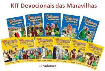DEVOCIONAL DAS MARAVILHAS VOL 2 AO 12 KIT APEC
