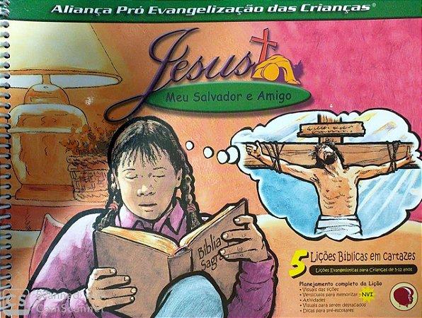 JESUS MEU SALVADOR E AMIGO
