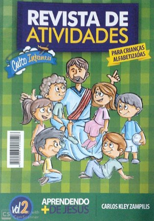 APRENDENDO + DE JESUS ALUNO ALFABETIZADAS CULTO INFANTIL VOL 2 METODISTA