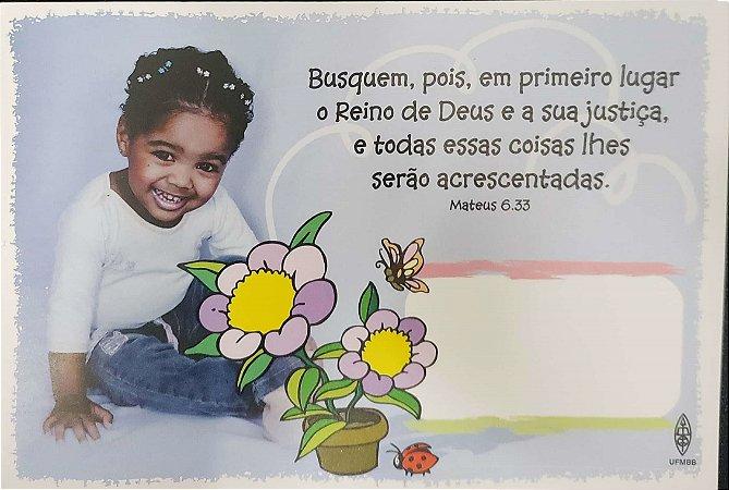 BUSQUEM POIS EM PRIMEIRO LUGAR CARTÃO ROL DE BEBÊS MENINA UFMBB