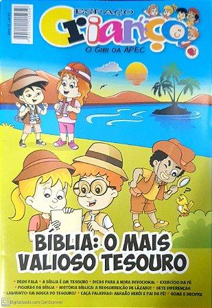 BÍBLIA O MAIS VALIOSO TESOURO GIBI 61 APEC