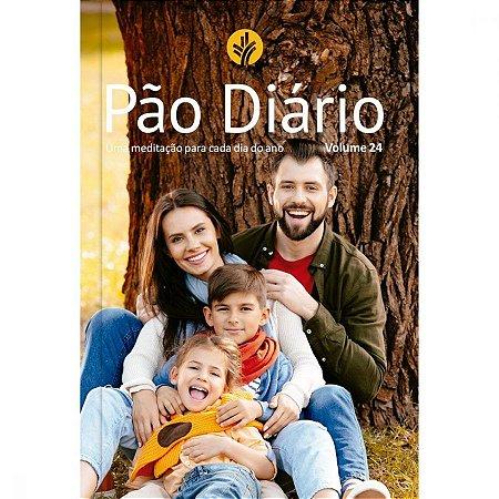 PÃO DIÁRIO 2021 VOL 24 TRADICIONAL CAPA FAMÍLIA