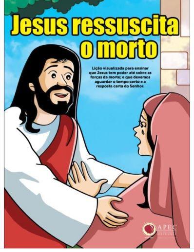 JESUS RESSUSCITA O MORTO LÁZARO