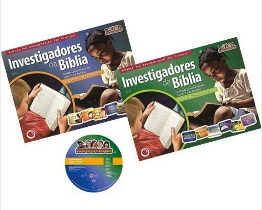INVESTIGADORES DA BÍBLIA VOL 1 A 12 KIT APEC