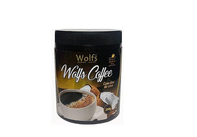 Wolfs Coffee com Óleo de Coco 200g