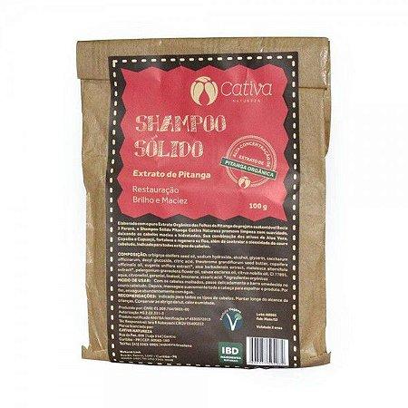 Shampoo Sólido Estrato de Pitanga 100g