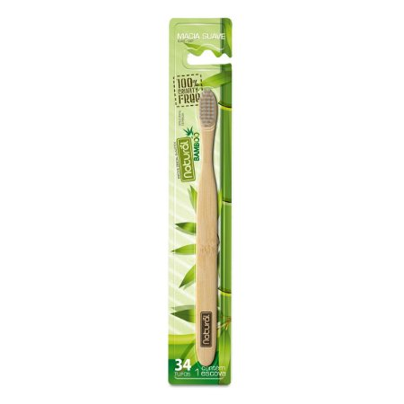 Escova de Bambu Natural