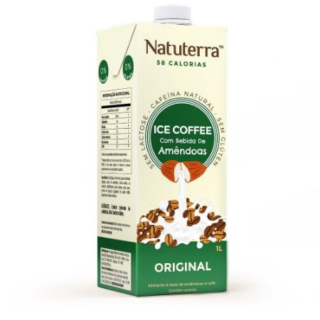 Bebida de Amêndoas Ice Coffee Original - 1L