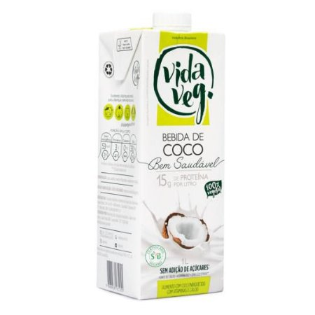 Bebida de Coco 1l - VidaVeg