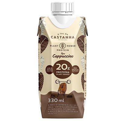 Bebida De Castanha Cappuccino 330ml -A Tal Da Castanha