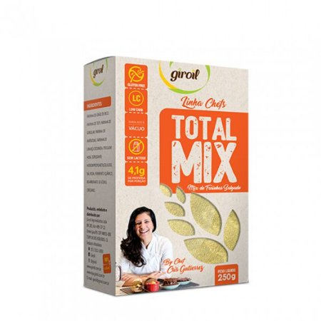 Total Mix Farinha Salgadas Low Carb 250g - Giroil