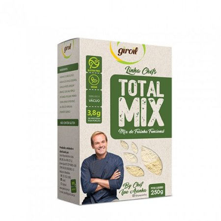 Total Mix Farinha Funcional Low Carb 250g - Giroil