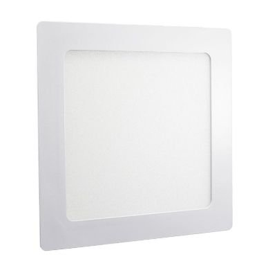 Luminária Plafon 32w LED Embutir Quadrado Branco Quente 3000K