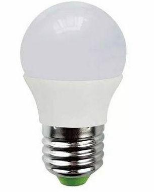 Lâmpada Led Bulbo 03W E27 Bivolt Branco Frio