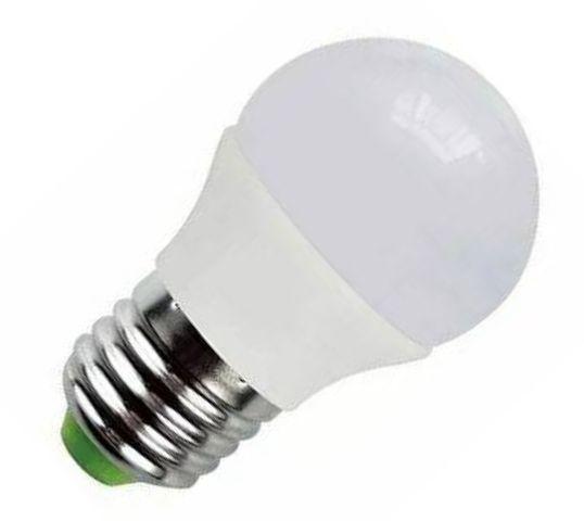 Lâmpada Led Bulbo 05w E27 Bivolt Branco Quente
