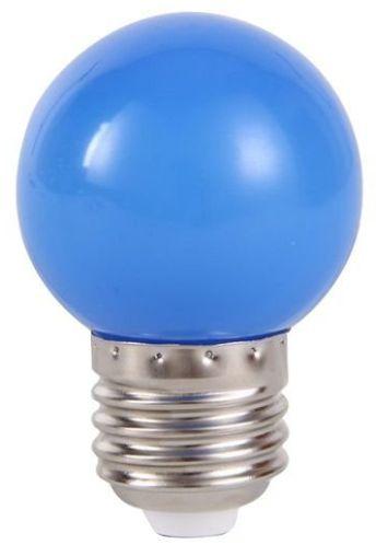 Lâmpada Led Bolinha 1W 110V Azul