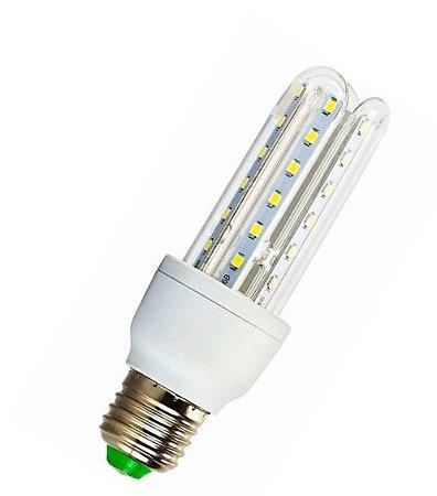 Lampada LED 3U (milho) de 07w E27 Branco Frio