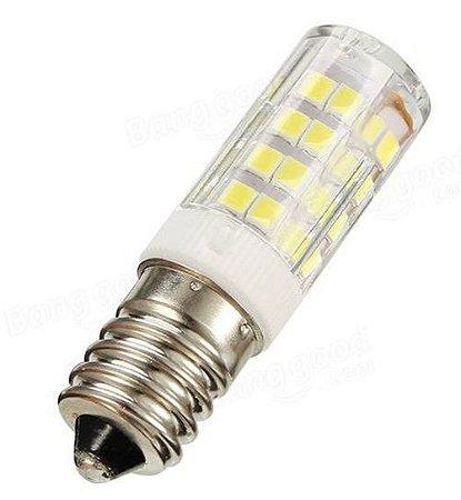 Lâmpada LED Halopin E14 5w Branco Quente - SERVE EM GELADEIRA