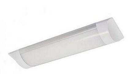 Luminária Led Sobrepor Slim 09w  30cm  Branco Frio  -  Bivolt