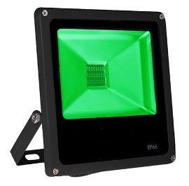 Refletor Holofote LED 30w Verde
