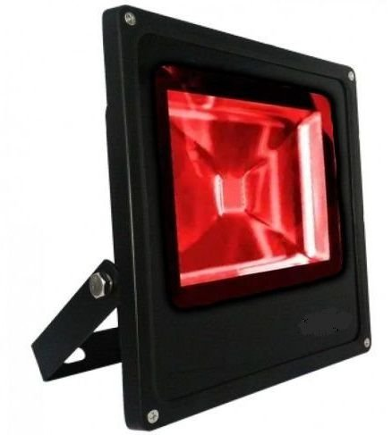 Refletor Holofote LED 30w Vermelho