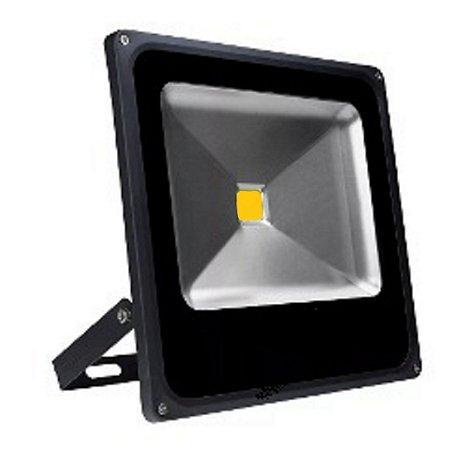 Refletor Holofote LED 50w Branco Quente