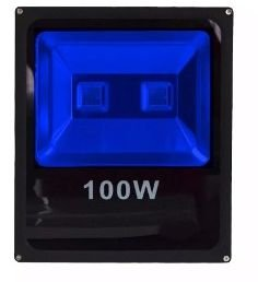 Refletor Holofote LED 100w Azul