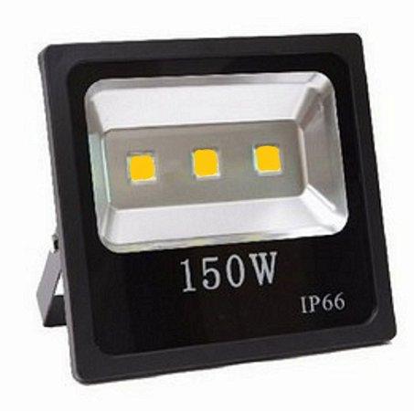 Refletor Holofote LED 150w Branco Quente