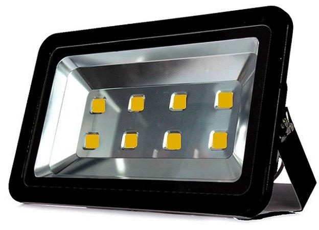 Refletor Holofote LED 400w Branco Quente