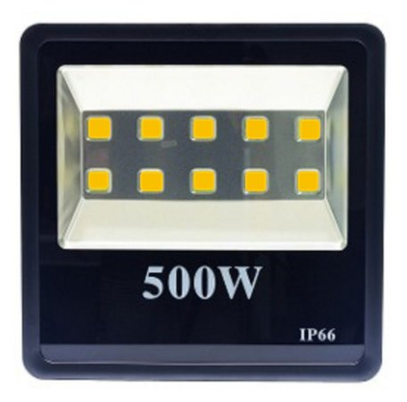 Refletor Holofote LED 500w Branco Quente