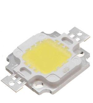 Chip LED - 10w - Para Reparo de Refletor - Branco Frio