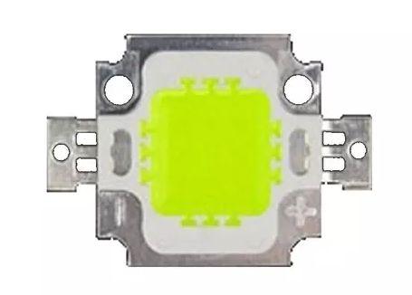 Chip LED - 10w - Para Reparo de Refletor - Verde