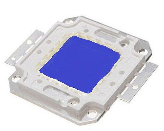Chip LED - 10w - Para Reparo de Refletor - Azul