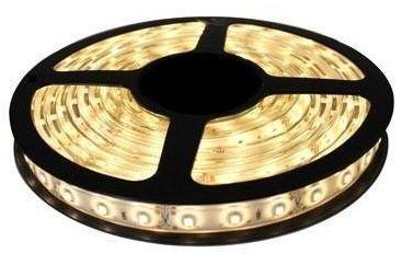 Fita LED - 3528 Branco Quente (3000k) - Rolo com 5 Metros - 4,8w  - 60 LEDs por Metro - IP65 (com Silicone) - 12V