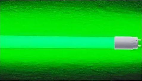 Lampada LED Tubular T8 18w - 1,20m - Verde