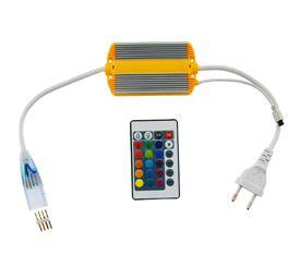 Controle Remoto WiFi para Mangueira Colorida - Chata - RGB - Bivolt